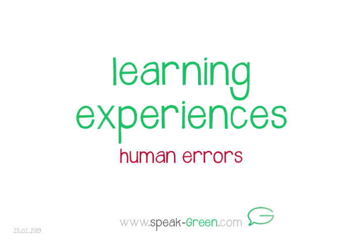 2019-02-23 - learning experiences