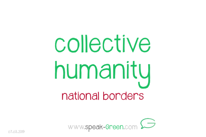 2019-03-07 - collective humanity