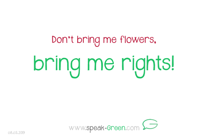 2019-03-08 - bring me rights